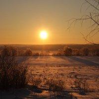 Зимний восход!... :: Егор