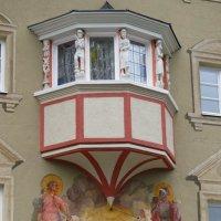 роспись на домах в Гармише :: Сергей Цветков