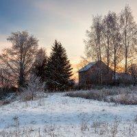 На рассвете... в деревне. :: Александр Никитинский