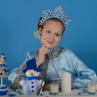 снегурочка :: Кристина Леонова