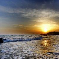 Закат на Черном море... :: Александр Вивчарик
