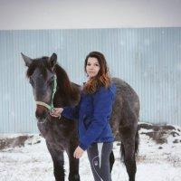 Хаспия и ее хозяйка Руслана :: Кристина Плавская
