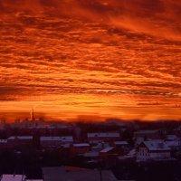 Небесный пожар :: Елена Чижова