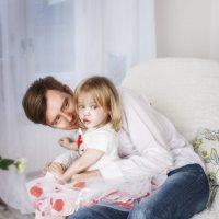 Дочь и папа :: Елена Герасимова