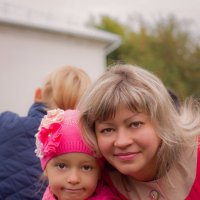 мама и доча :: Катерина Орлова