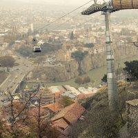 Тбилисская канатная дорога :: Алексей Окунеев