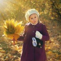 в золотых лучах осени :: Анастасия Полякова