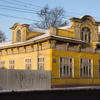 О старинном деревянном зодчестве и современном заборостроительстве :: Татьяна Копосова