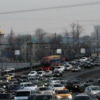 Автомобильная река :: Анастасия Смирнова