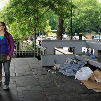 место ночлега бездомных :: Olga
