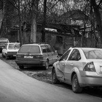 Окраина. Граница деревни и города :: Константин Фролов