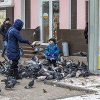 Покормить голубей :: _NIGREDO_ _