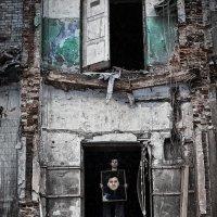 Портрет с портретом :: Ежъ Осипов