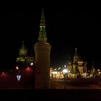 Красная площадь ночью :: Анастасия Крупкина