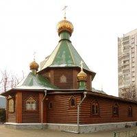 Церковь Троицы Живоначальной в Чертанове. :: Александр Качалин
