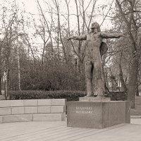 Памятник В.Высоцкому на Страстном бульваре :: Сергей Фомичев