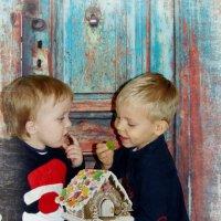 Рождественские забавы :: Mарина Еловская