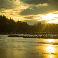 Закат на озёрах. :: МАРИЯ