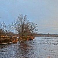 дамба...река Луга :: Михаил Жуковский