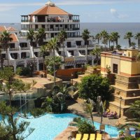 На территории отеля Europe Villa Cortes 5* :: Елена Павлова (Смолова)