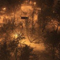 снежный двор :: нестор сидоров