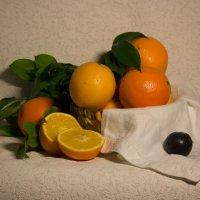 Ещё апельсины :: Ольга Долбилина