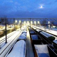 Перевозка грузов по железной дороге :: Фотогруппа Весна.