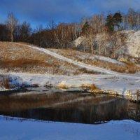 Голубое озеро :: Андрей Иванов