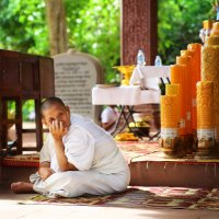 Наталья Альбрехт - Камбоджийская монахиня
