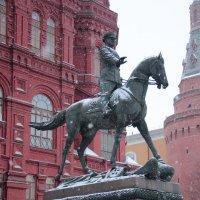 Памятник маршалу Жукову в Москве :: Борис Гребенщиков