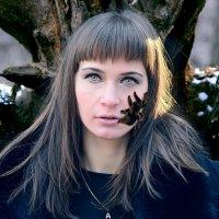очаровательная Алена в образе ведьмы :: Николай Артёмов