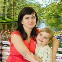 Сестрёнка и племяшка :: Сергей и Ирина Хомич