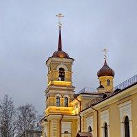 Церковь преподобного Сергия Радонежского в Царском Селе :: Олег Попков
