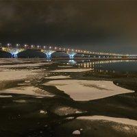 Саратовский мост через Волгу :: Андрей ЕВСЕЕВ