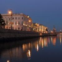 Утро над Невой :: Сергей Григорьев