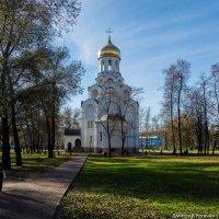 Церковь в Котельниках :: Дмитрий Рогачёв