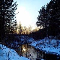 Закат на реке 2 :: оксана