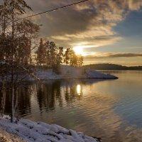 мороз и солнце---  день чудесный!!!! :: Ольга Cоломатина