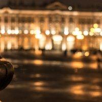 Дворцовая площадь, ночь. :: Евгений Дмитриев
