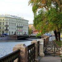 Река Мойка. Поцелуев мост. :: Владимир Гилясев