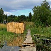 лодка рыбака... :: Валентина. .