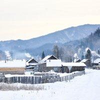 Деревня просыпается :: юрий Амосов
