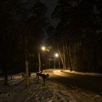 Ночная дорога. :: Oleg4618 Шутченко