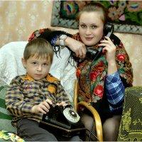 А не позвонить ли нам папе ... :: Дмитрий Конев