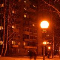 Ночь.улица,фонарь :: grovs