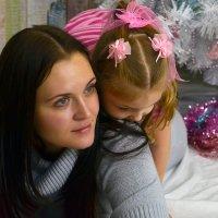 Мама с дочкой :: Вероника Полканова