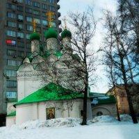 Церковь Симеона Столпника в Москве :: Валентина Пирогова