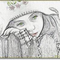 Эти печальные зеленые глаза :: Лидия (naum.lidiya)