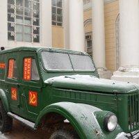 Советский внедорожник ГАЗ-69 1952 года выпускаю :: Владимир Болдырев