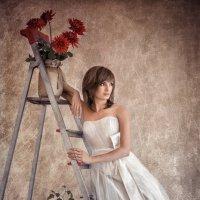 Фотосессия с цветами :: Евгений Ланин